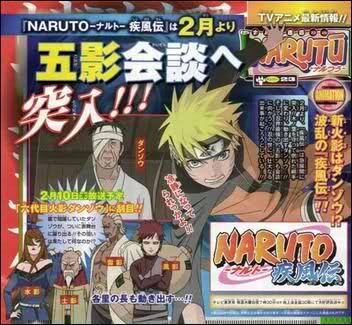 Naruto Shippuuden opět podle mangy