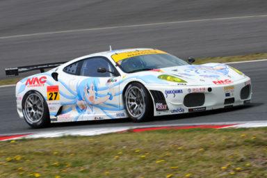 Ika obsazuje japonské závody Super GT