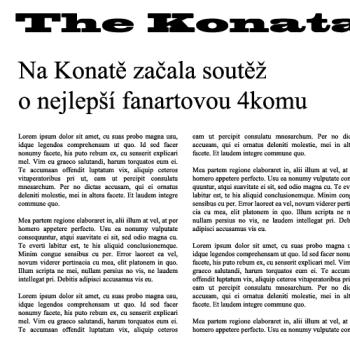 Soutěžte s Konatou o nejlepší 4-komu