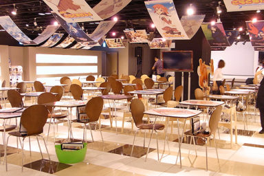 Yuru Yuri♪♪ event v akihabarském Good Smile Café
