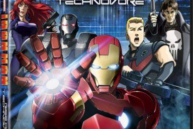 Nové Iron Man anime v japonském traileru