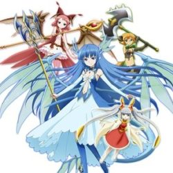 Nové moe fantasy anime Zettai Bouei Leviathan
