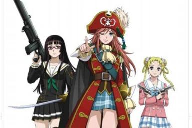 Mouretsu Pirates na filmových plátnech za rok