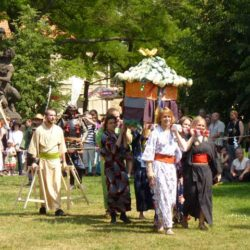 Matsuri na pražském Vyšehradě
