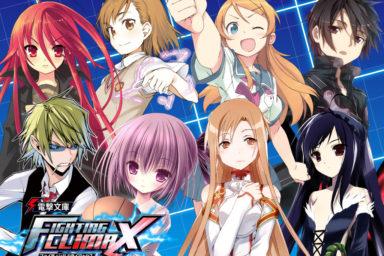 Dengeki Bunko Fighting Climax bude i na PS3 a PS Vita