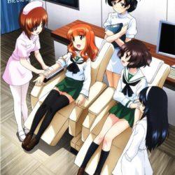 Girls und Panzer propaguje dárcovství krve