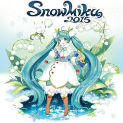 Podoba Sněžné Miku pro rok 2015 byla odhalena