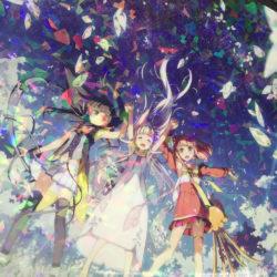 Více informací o lednovém filmu Glass no Hana to Kowasu Sekai