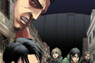 Recenze pátého svazku Útoku titánů