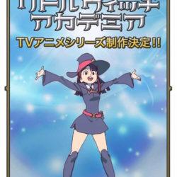 Little Witch Academia se vrátí v podobě televizní série