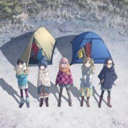 Anime o kempování v zimě