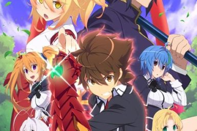 Novinky okolo anime High School DxD Hero