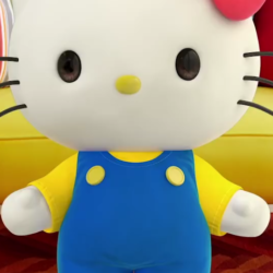 Hello Kitty si založila účet na YouTube