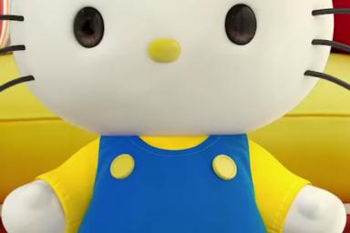 Hello Kitty si založila účet na YouTube
