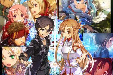 Interaktivní expozice Sword Art Online