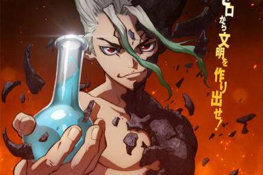 Anime Dr. Stone již za dva dny