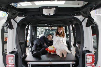 Malé obytné auto k cestovaní po Japonsku nově v půjčovnách