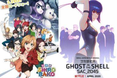 Nový GITS od Netflixu, renovace Gundam cafe a Širobako film