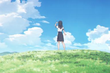 Akebi-čan no Sailor fuku v animované podobě